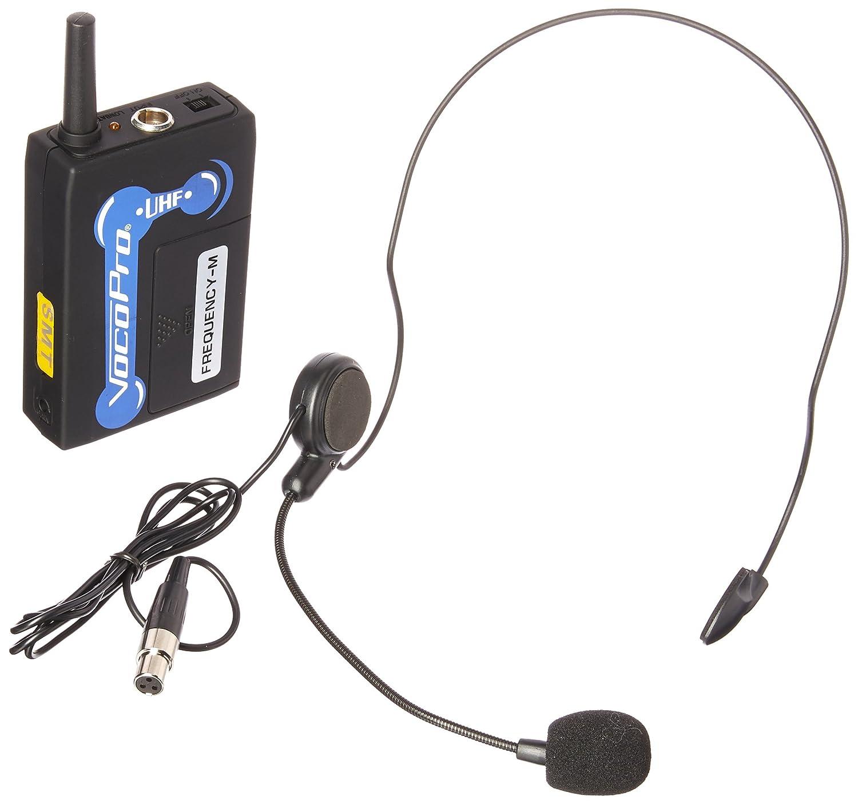 VocoPro UHFBP1M Headset for UHF-3200, UHF-3205, UHF-5800, UHF-5805 & UHF-8800 Wireless Microphone Systems 476324118