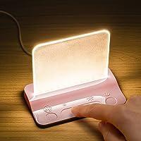 Integral Glow nachtlampje, plastic, B - roze basis, 12 x 90 mm
