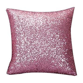 squarex exquisito color sólido Glitter Lentejuelas manta ...