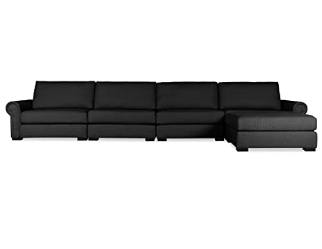 South Cone Home CHLS UL2 CHARC Chelsea Modular Sectional Charcoal