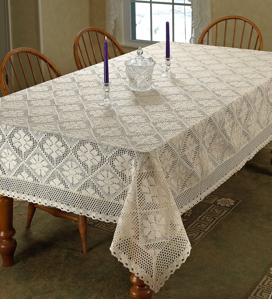 Lace Crochet Tablecloth Oval Round Rectangle or Square : 8174jdtadiLSL1024 from www.home-decor-decorating.com size 932 x 1024 jpeg 360kB