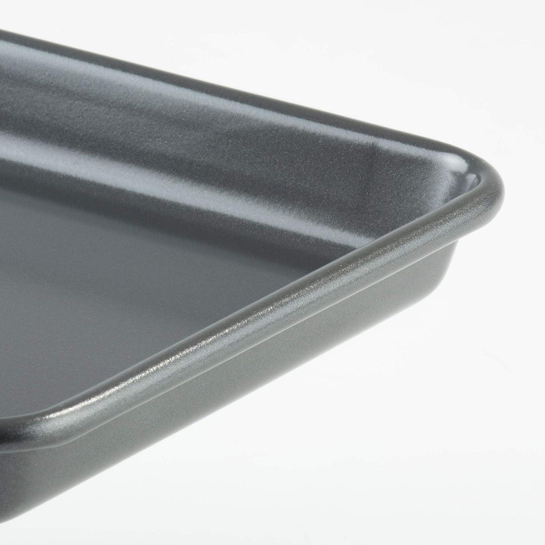 Be Pro Chef Prochef - Bandeja para horno (revestimiento de teflón, tamaño pequeño, 25 x 17 cm): Amazon.es: Hogar