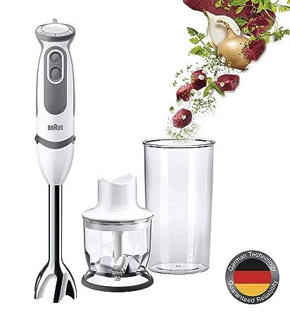 Amazon.com: Braun MQ5020 Multiquick 5 Pasta Hand Blender w ...