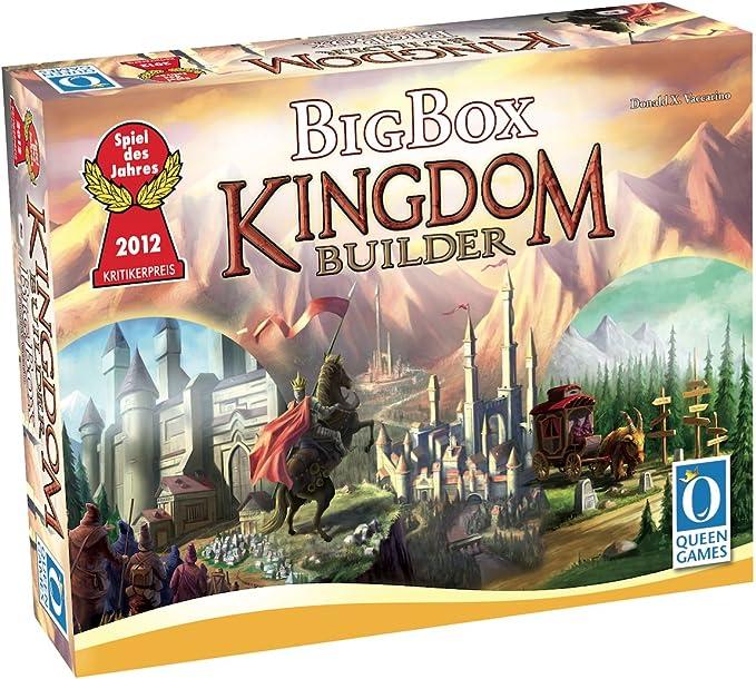 Queen Games Kingdom Builder: Big Box: Amazon.es: Juguetes y juegos