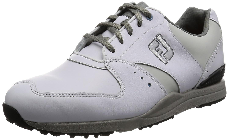 フットジョイ FOOTJOY メンズ ゴルフシューズ スパイクレス 17 CONTOUR カジュアル #54365 WT B01M05PMZ1 26.0 cm Wide ホワイト2016モデル