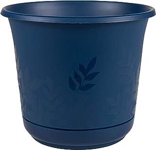 "product image for Bloem Freesia Planter w/Saucer, 16"", Deep Sea (FP1631)"