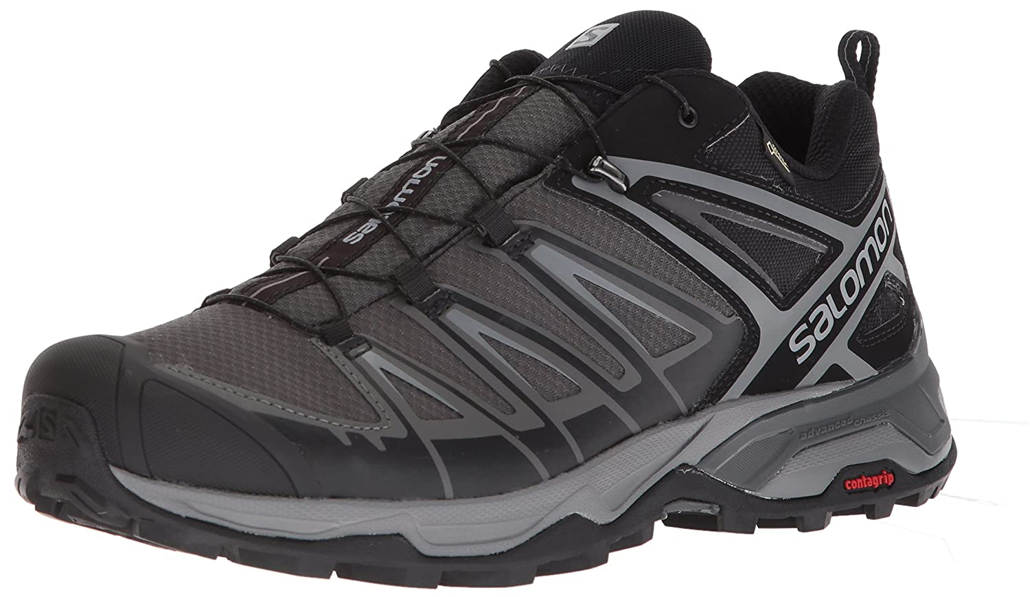 Salomon Mens X Ultra 3 GTX Hiking Shoes  B073K2VC5F
