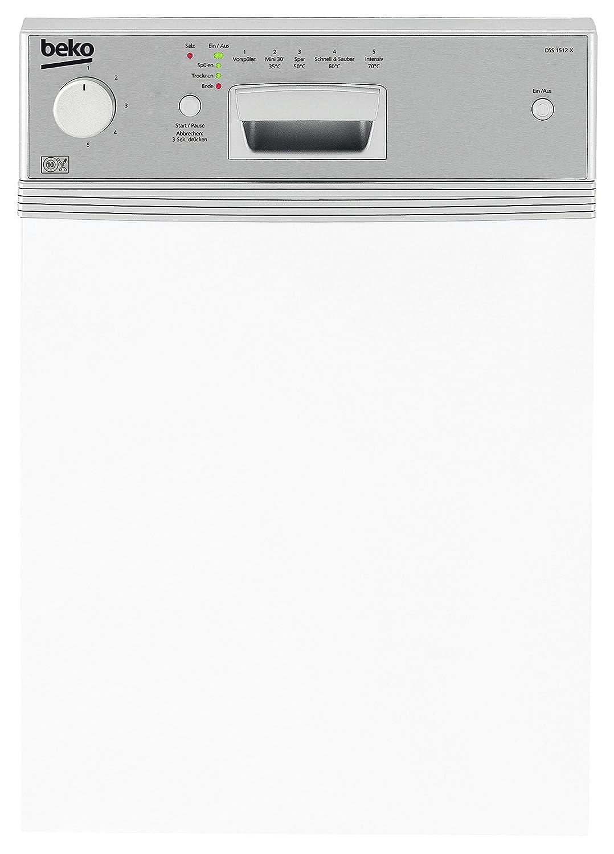 Beko DSS 1512 X lavavajilla - Lavavajillas (Totalmente integrado ...