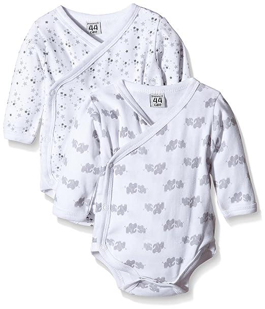 Care 4135-Body Bebé niños Blanco (Blanco 100) 1 Mes