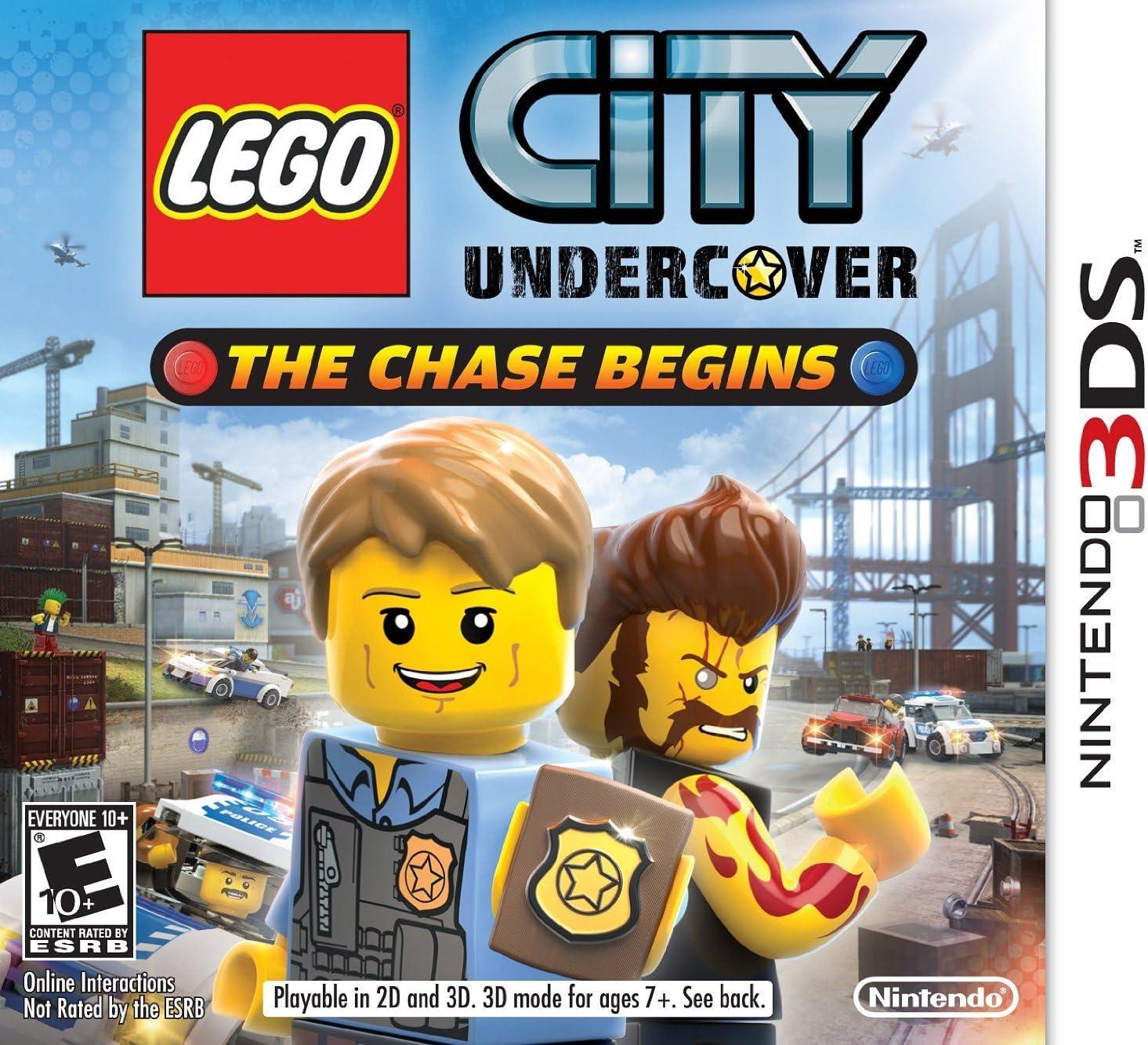 Nintendo LEGO City Undercover - Juego (Nintendo 3DS, Acción, E ...