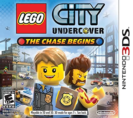Amazon Com Lego City Undercover The Chase Begins Nintendo 3ds Nintendo Of America Video Games
