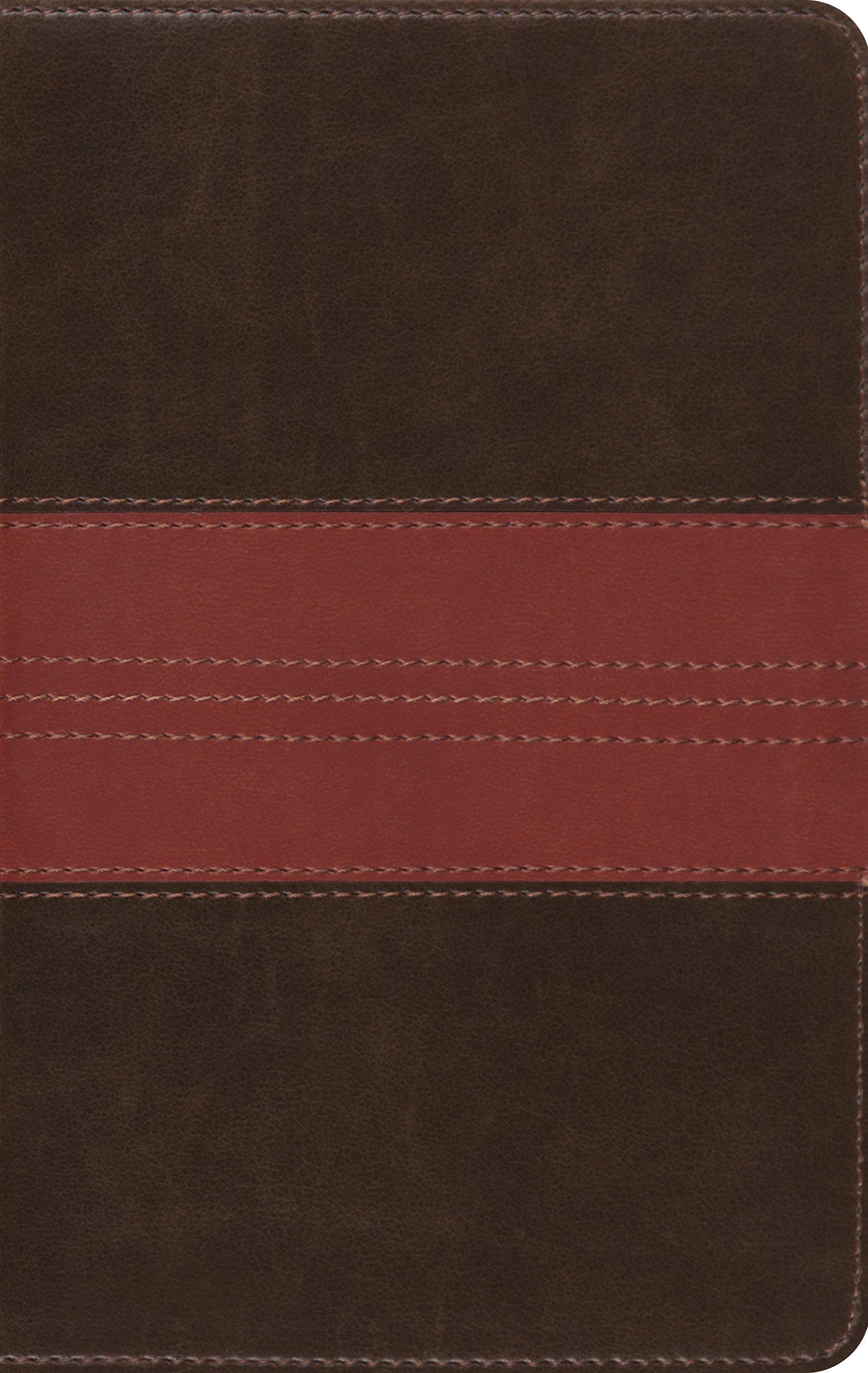 esv thinline bible trutone forest tan trail design