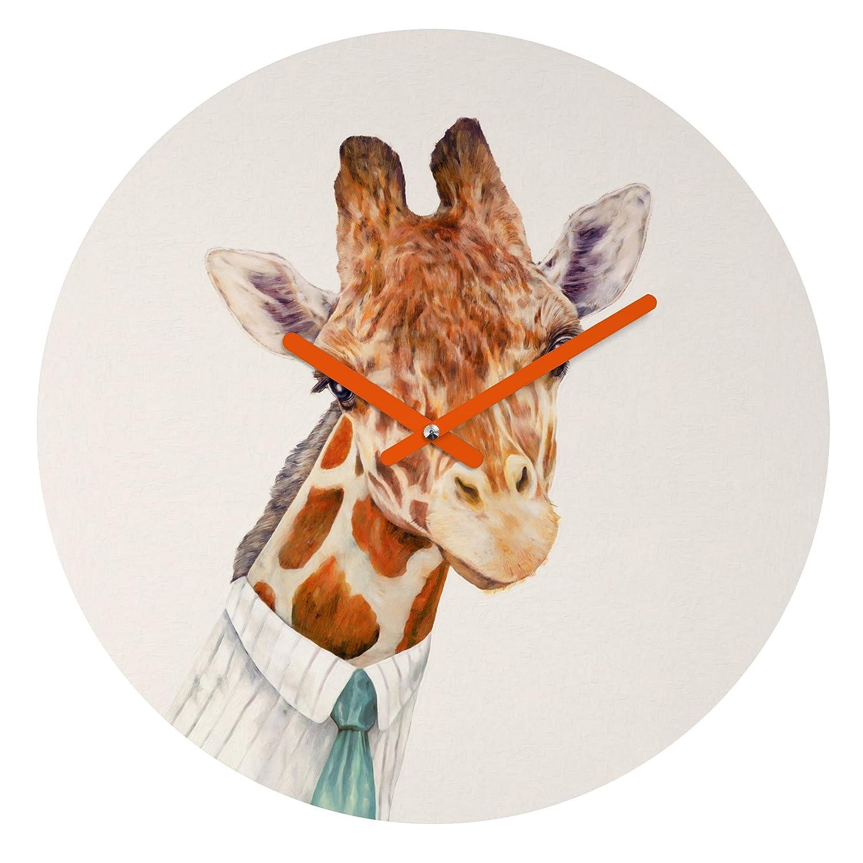 Mr.Giraffe Baroque Clock Medium 50829-clkbm2 Deny Designs Animal Crew