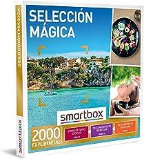 SMARTBOX - Caja Regalo hombre mujer pareja idea de regalo - Selección mágica - 2000 experiencias como cenas de tapas, catas, manicuras, masajes y kayak