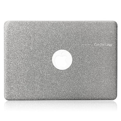 lenboes Snap On Bling Cristal ultrafino ligero peso PC duro caso cubierta protectora brillante para MacBook