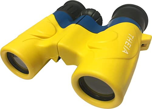 Occer Cute Binoculars for Kids,8×22 Children Binoculars Great Gifts for Boys,Girls Teens Age 3-12, with High Resolution Real Optic 15mm Large Eyepiece,Compact Binocular for Birding,Hiking,Wildlife
