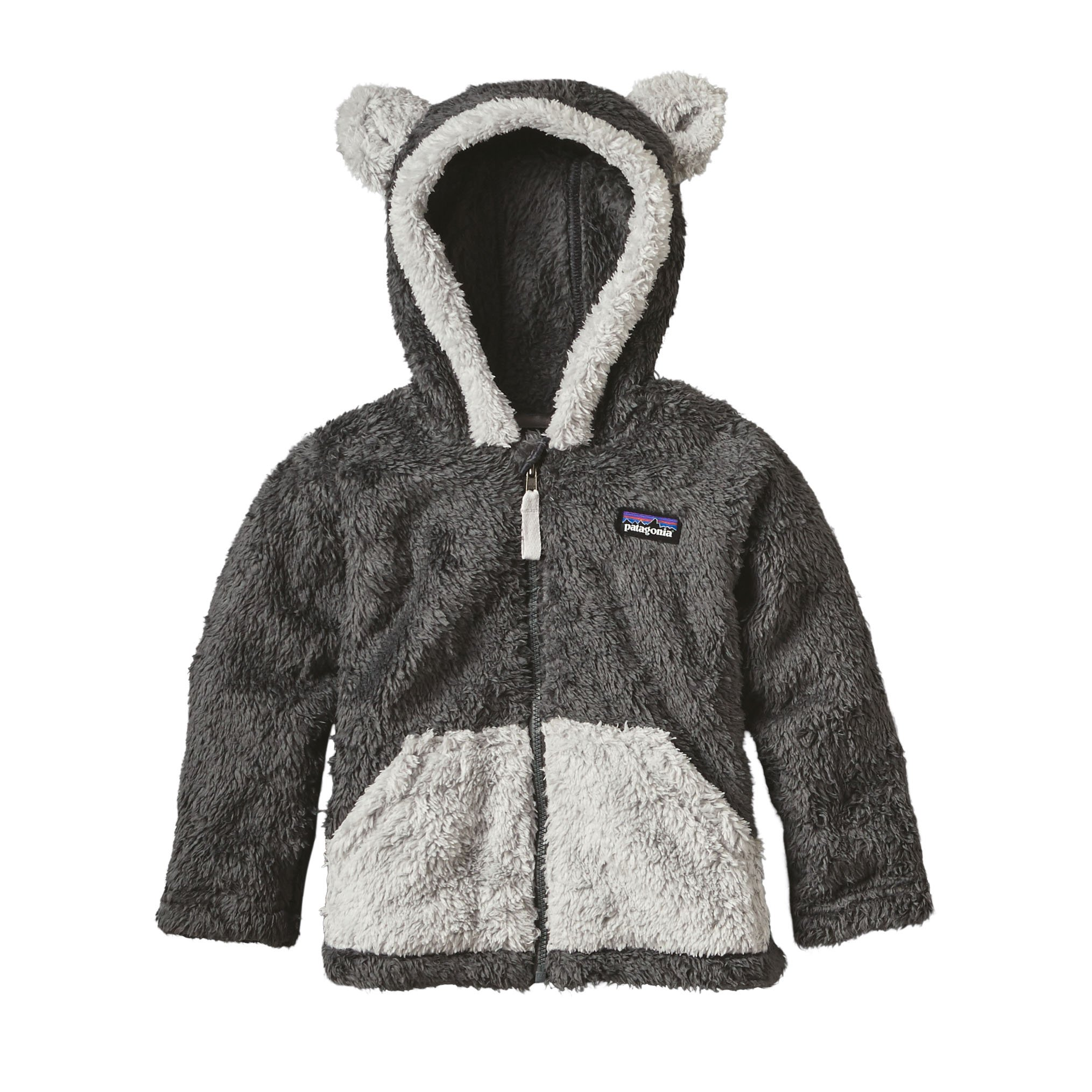 Patagonia Toddler Furry Friends Hoodie (Forge Grey, 3T)