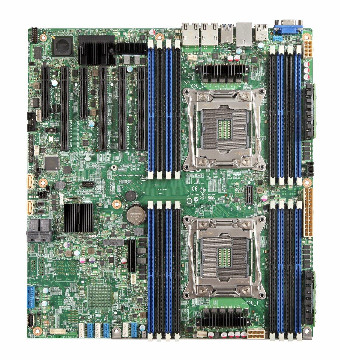 Intel SSI EEB SDRAM LGA 2011-3 Motherboards DBS2600CW2SR