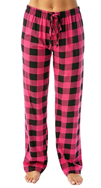 328a8843181 Just Love Women Buffalo Plaid Pajama Pants Sleepwear 6324-10195-FUS-XS