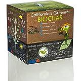 California's Greenest Biochar Box - Low Dust - Indoor / Outdoor - All Natural & OMRI Organic - Best Value (7.5 Gal)