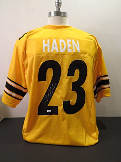 Amazon.com: Joe Haden Signed Pittsburgh Steelers Autographed ...