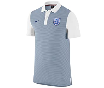 3f01e1c4 2016-2017 England Nike Authentic Grand Slam Slim Polo Shirt (Grey), Jerseys  - Amazon Canada
