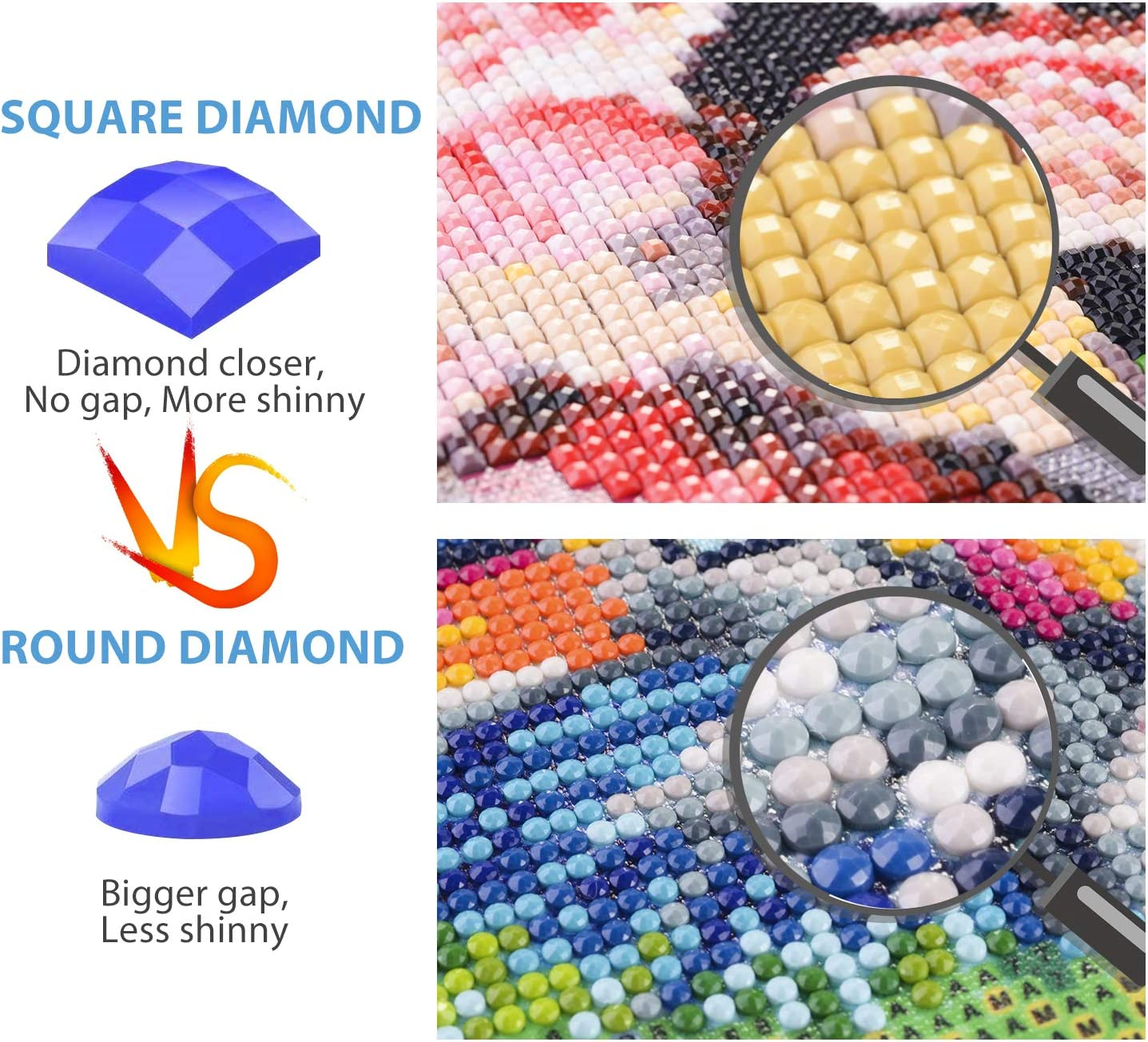 Full Drill 5D Square Diamond Painting by Number Kit Seagull Beach Embroidery Cross Stitch Picture Supplies Arts Craft Wall Sticker Decor
