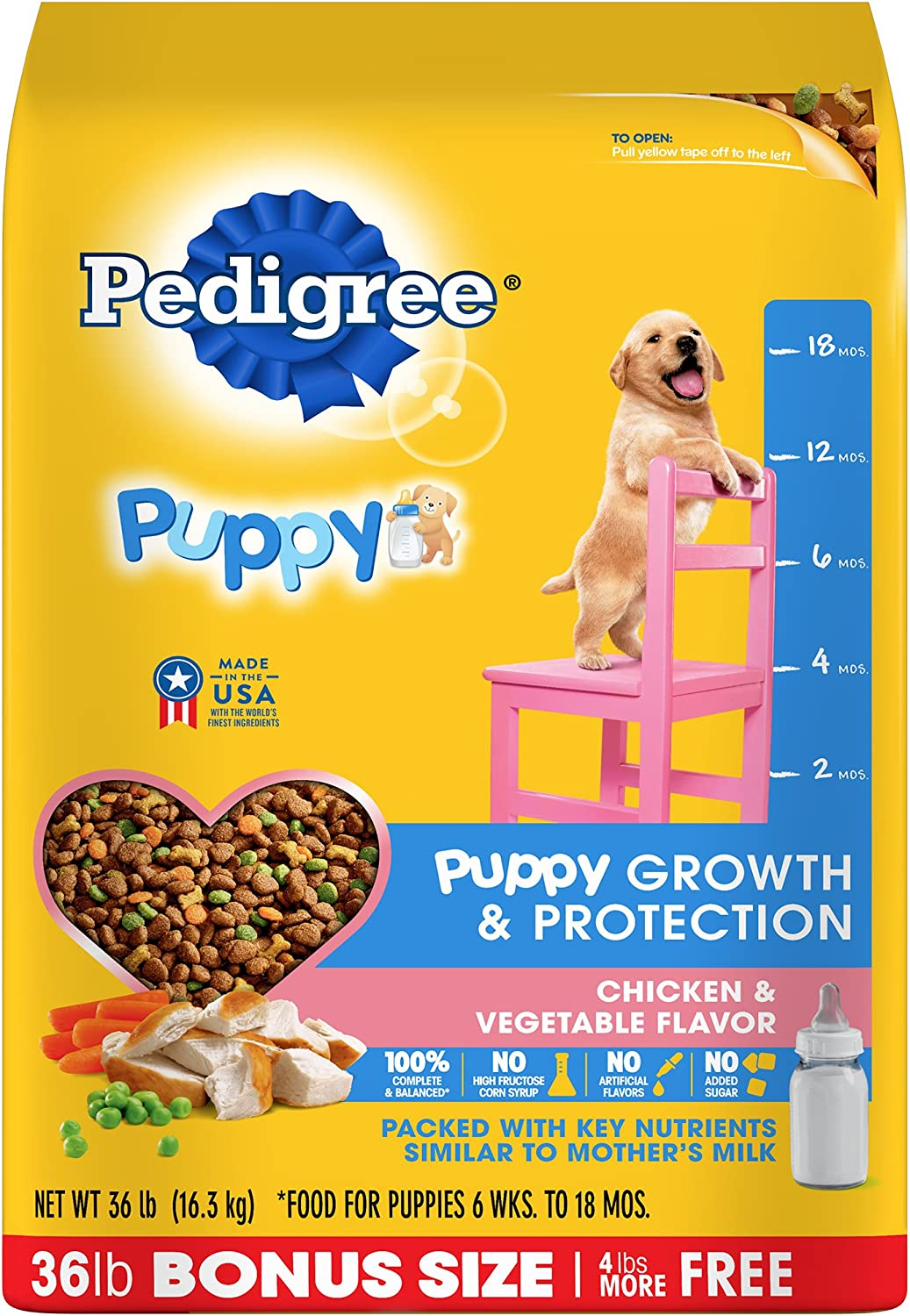 Pedigree Complete Nutrition Puppy Dry Dog Food