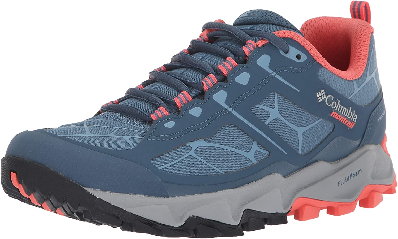Columbia Women's Trans ALPS II Trail Running Shoe, Steel, melonade, 6 B US