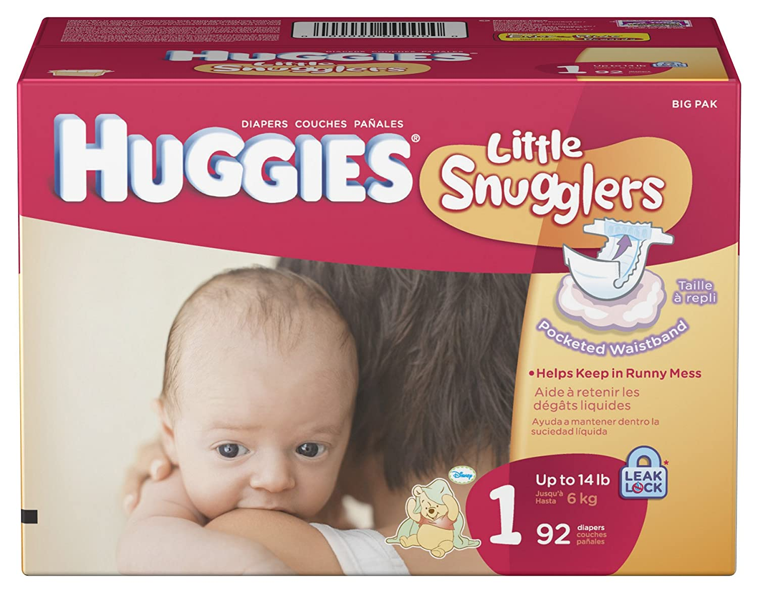 Huggies pull ups diapers car tuning - Amazon Com Huggies Little Snugglers Diapers Size 1 92 Count Health Personal Care