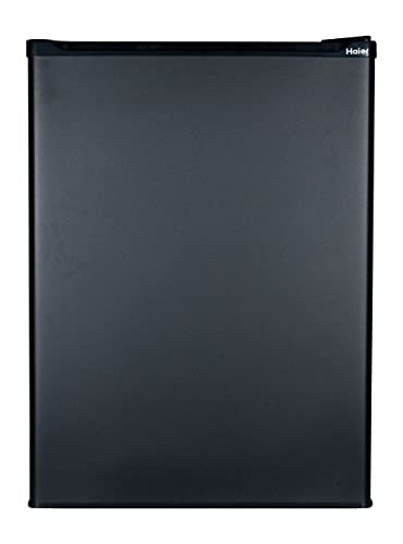 Haier HC27SF22RB 2.7 Cubic Feet Refrigerator/Freezer, Black on