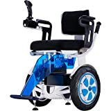 Airwheel A6S - Silla de ruedas eléctrica ligera y todoterreno dirigida con el propio cuerpo a través del autoequilibrio. Versión joystick