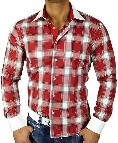 Golden Horn Hombre de Cuadros de Camisa Polo Camisa Cuadros ...