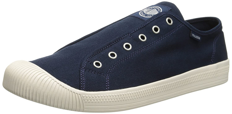 4bbb14a6bf470 Amazon.com: Palladium Mens's Flex Slip On Flat: Shoes