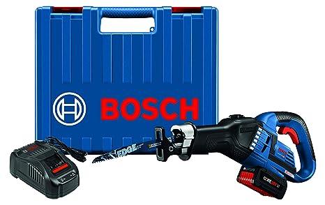 Amazon.com: Bosch GSA18V-125K14 18 V EC sin escobillas 1 – 1 ...