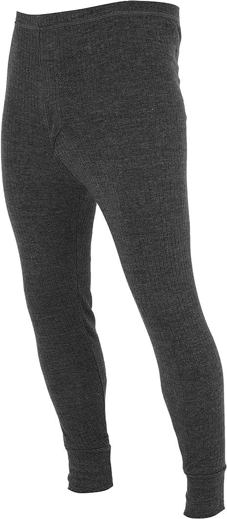 TALLA Pequeña (cintura 76-81cm). Floso - Calzoncillos térmicos largos para hombre