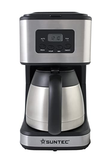 SUNTEC Filter Kaffeemaschine KAM 8267 Digital [Mit Timer Programmierung +  Anti  Images