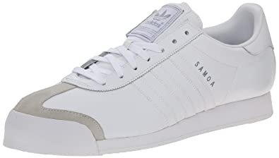 adidas Samoa Men's Shoes Running White/Silver 133759 (10.5 D(M) US