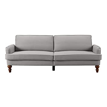 Sofas 2 Go SI-CA-CHA-TAN Charleston Convertible Sofa One Size Tan