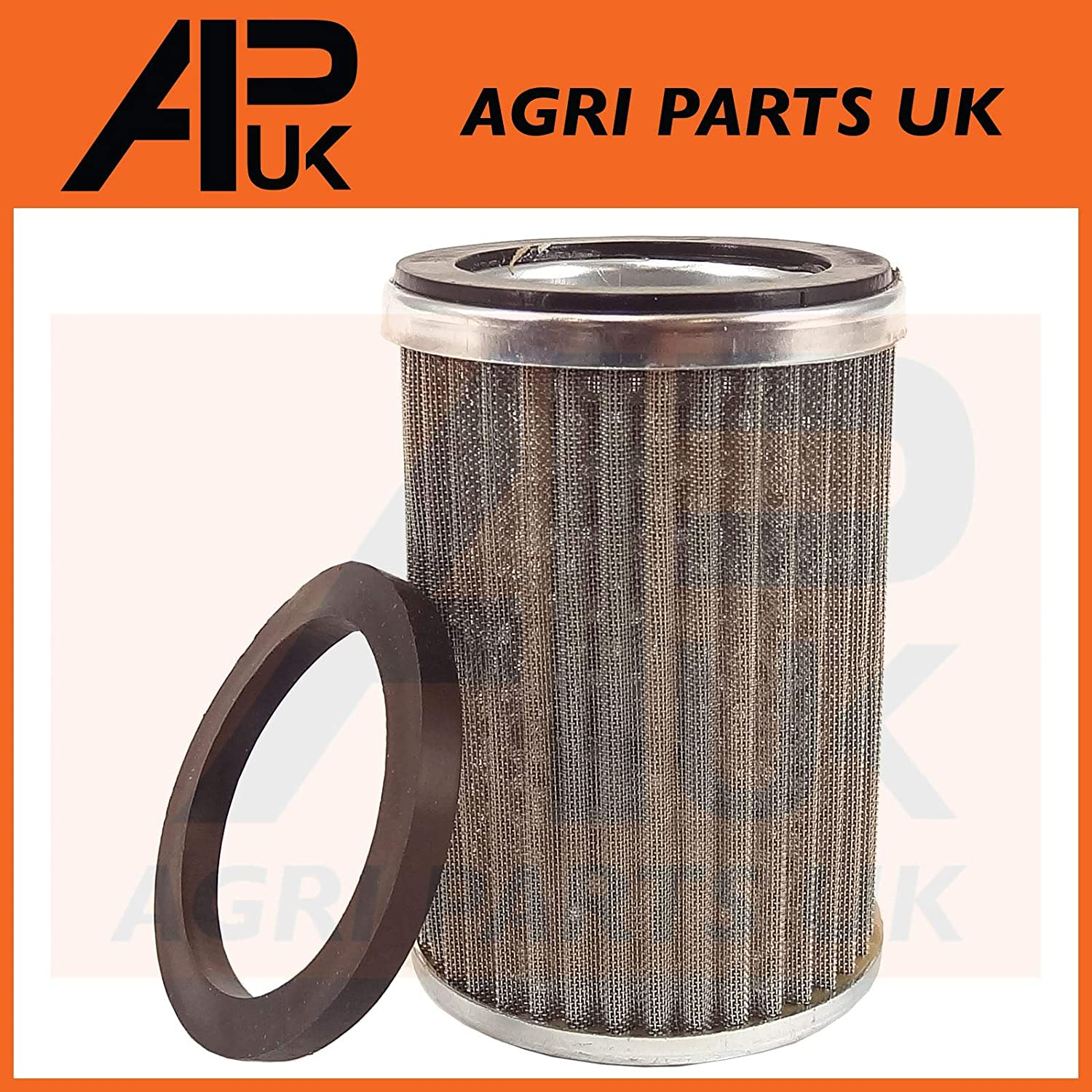 APUK Hydraulic oil Filter Strainer compatible with Massey Ferguson 35 65 FE35 135 165 290 390 Tractor