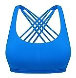 QUEENIEKE Womens Yoga Sport Bra Light Support