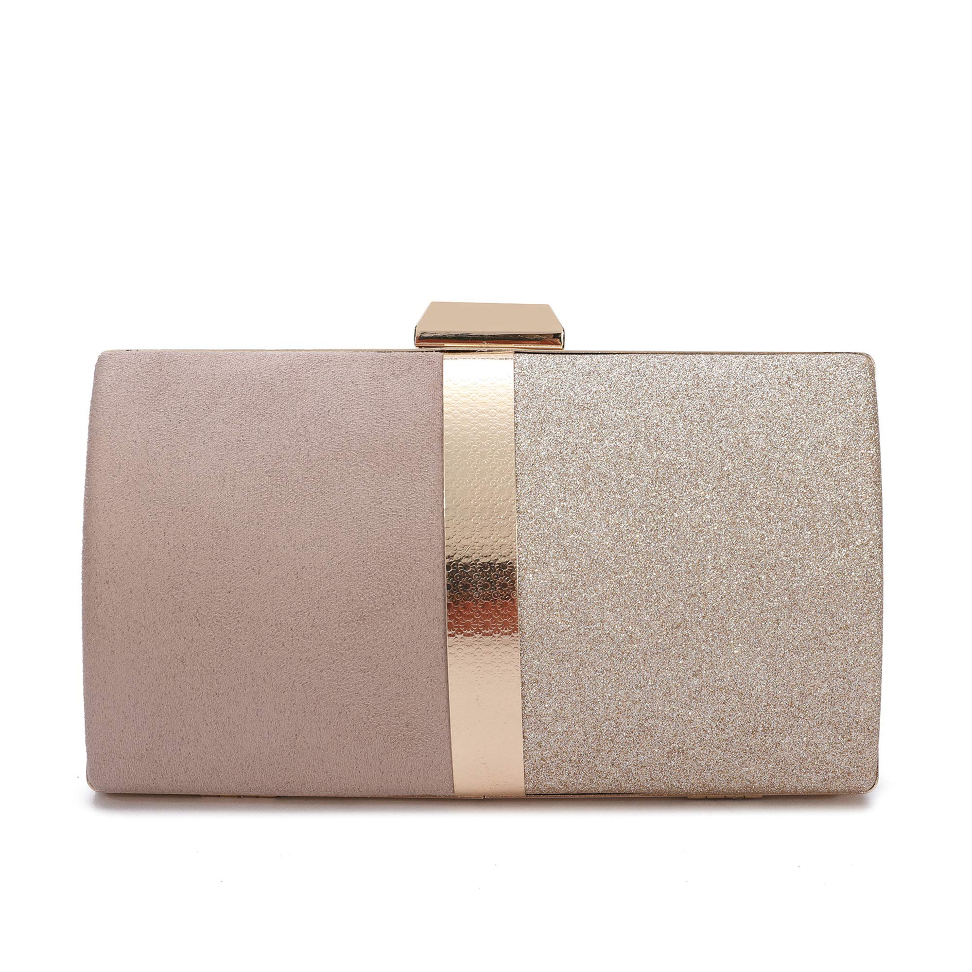 Womens Glitter Clutch Purse Sparkling Evening Bags Crystal Evening Handbag Shoulder Crossbody Bag for Wedding Party Prom Bride