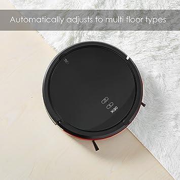 Robot Aspirador de Deik, Aspirador Robot 4-en-1con Inteligente Trapear, 5 Modos de Limpieza, Programable y Autocargador, HEPA Filtro y Cepillo Eléctrico: Amazon.es: Hogar