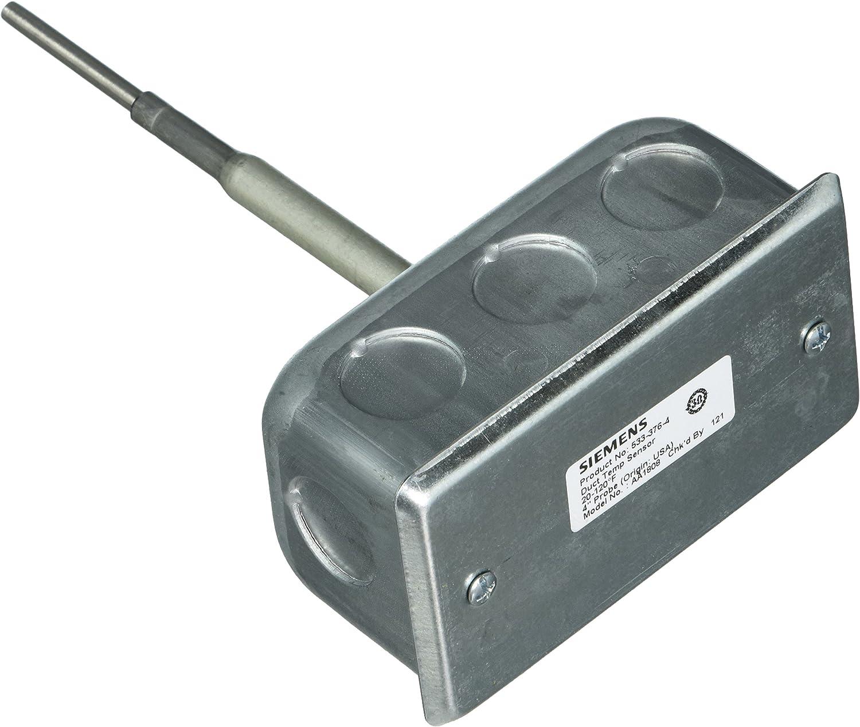 Duct Single Point Siemens 533-376-4 Temperature Sensor