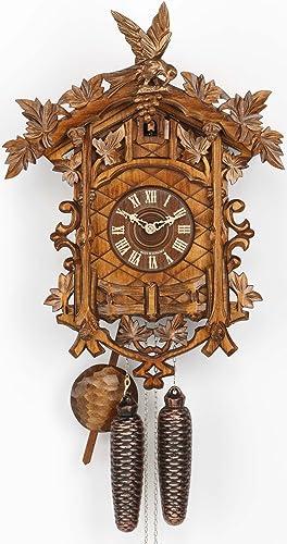 Kammerer Uhren Hekas Cuckoo Clock 14 Leaves, Bird