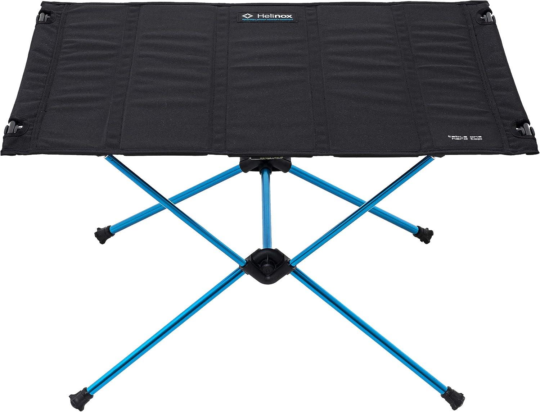 Mesas de Camping Hard Top Azul//Negro 2019 Helinox Table One