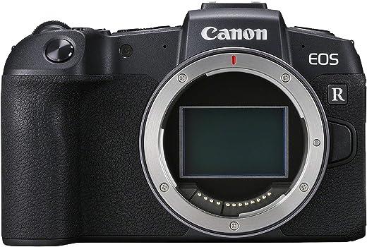 Canon EOS RP + Adapter EF-EOS R (Systemkamera mit Vollformat-Sensor, 26,2 MP, 7,5cm (3 Zoll) Clear View LCD II, Digic 8, 4K Video, WLAN, bluetooth)