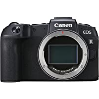 Canon EOS RP + Adapter EF-EOS R (Systemkamera mit Vollformat-Sensor, 26,2 MP, 7,5cm (3 Zoll) Clear View LCD II, Digic 8, 4K Video, WLAN, bluetooth)