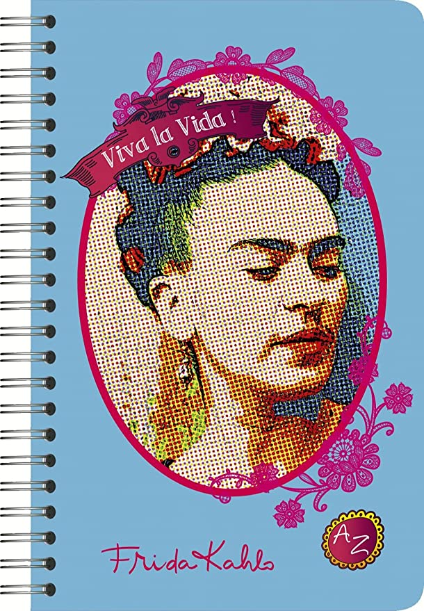 Clairefontaine Frida Kahlo - Cuaderno con agenda (rayado ...