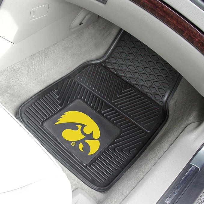 Fanmats Iowa Hawkeyes Carpeted Car Mats